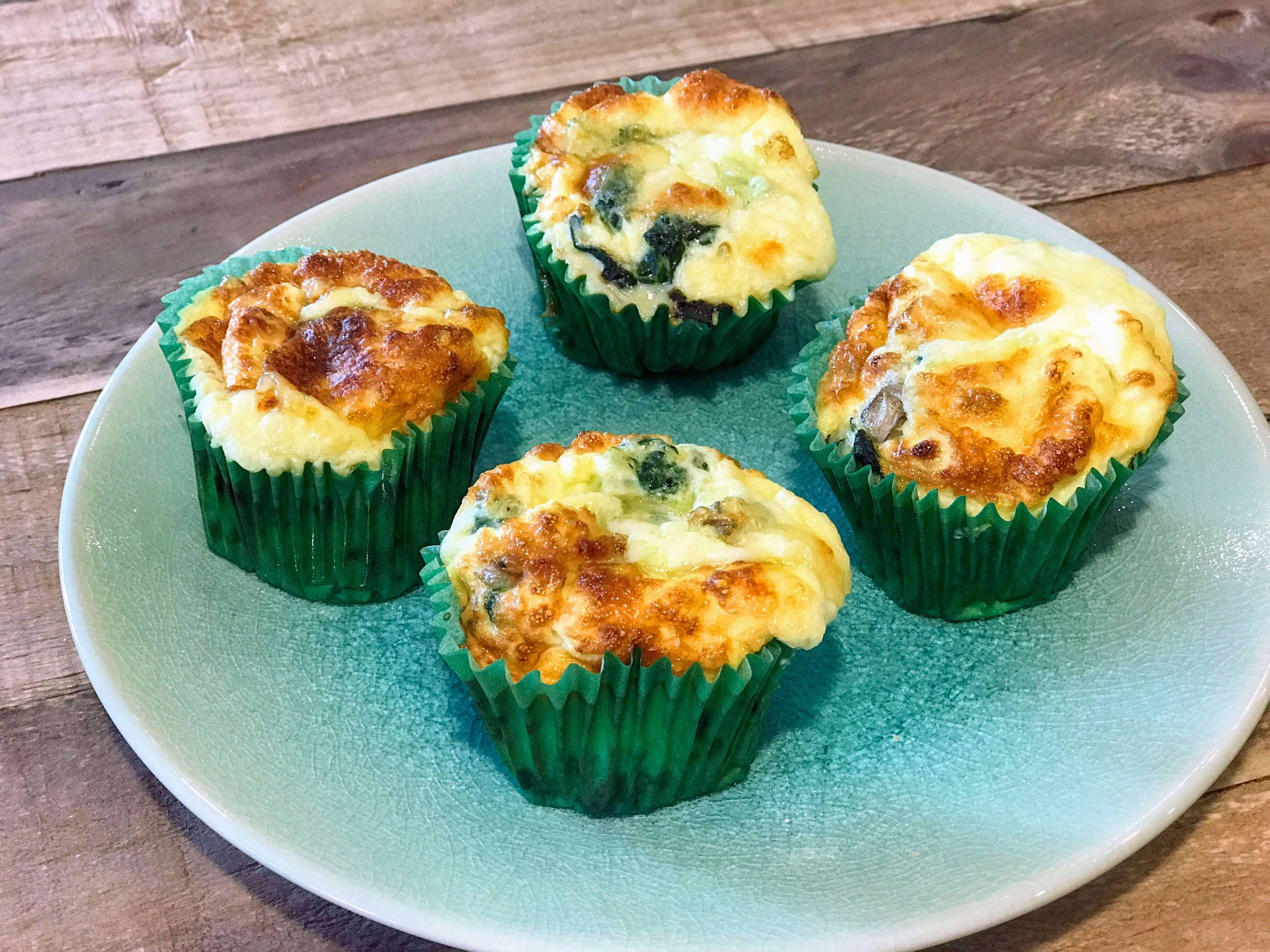 Cheese and onion easy muffins (Vegetarian)