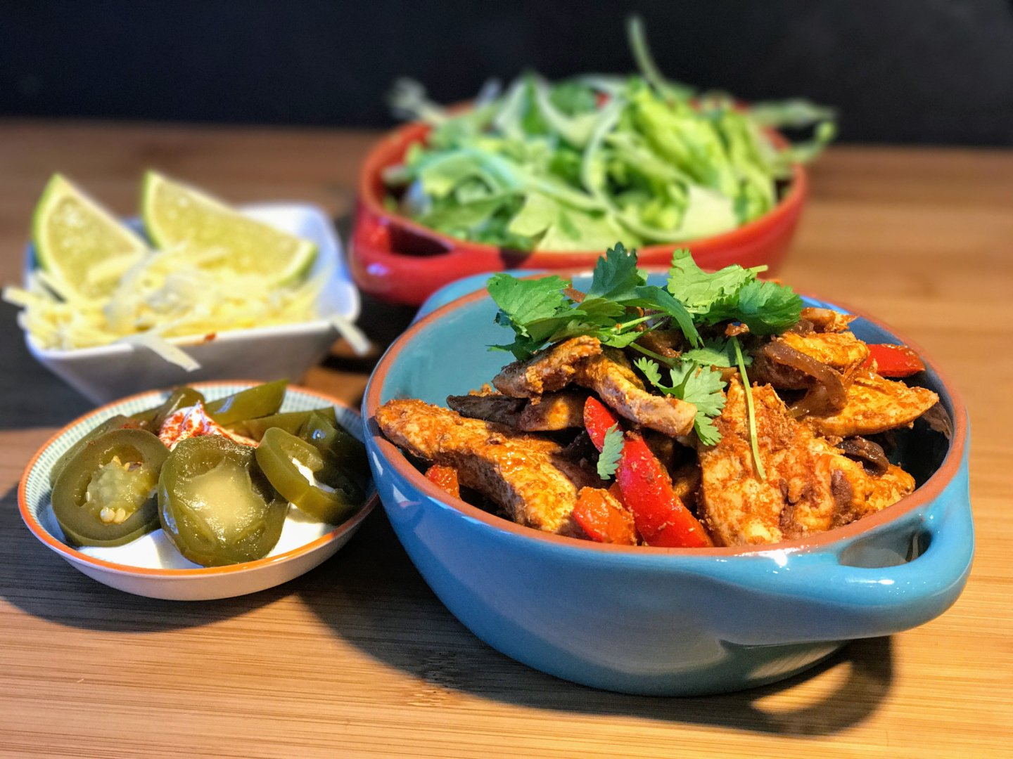Spicy As Flip Chicken Fajita 1.0