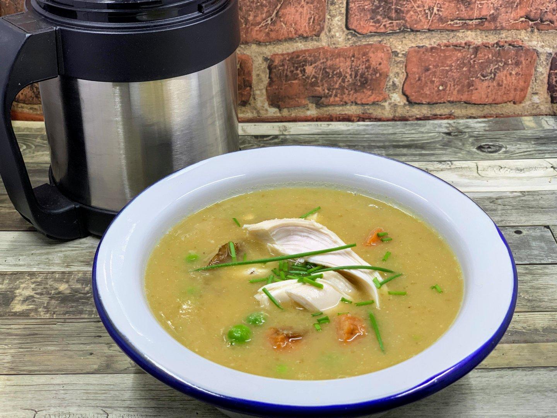 Pot roast chicken soup