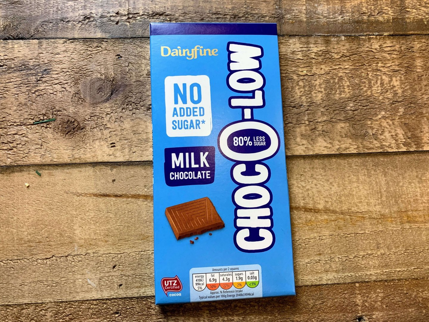 Aldi Choc O Low No Added Sugar Milk Chocolate – Product Review