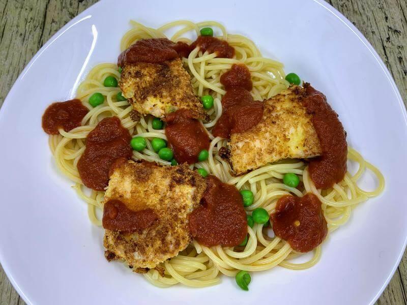 Chicken Parmigiana al forno