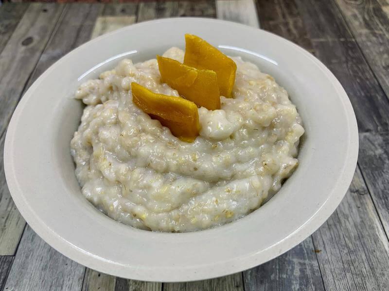 Easy does it mango porridge pot