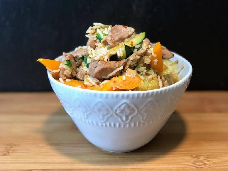 Gobble gobble rice pot