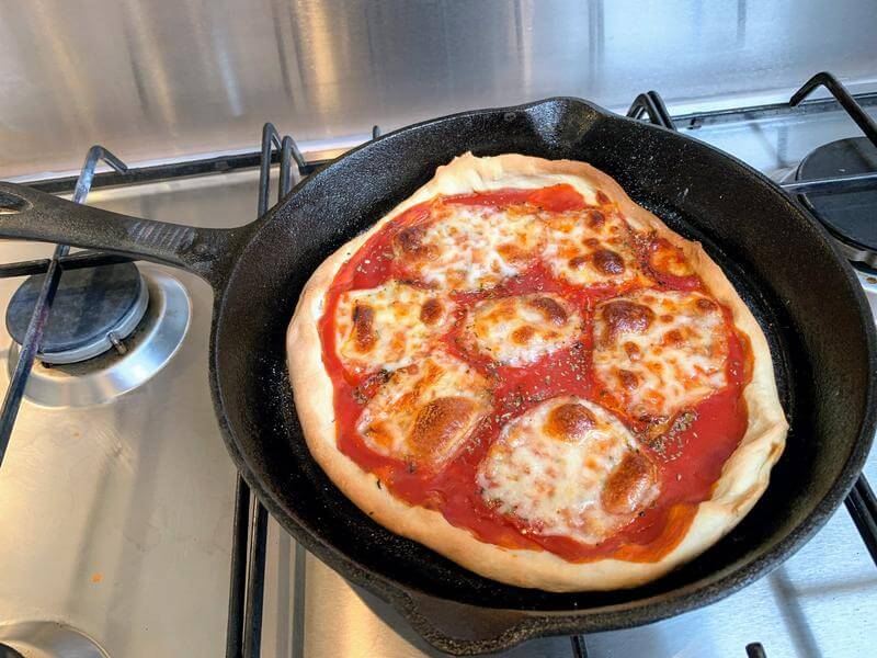 Zero to pizza in 35