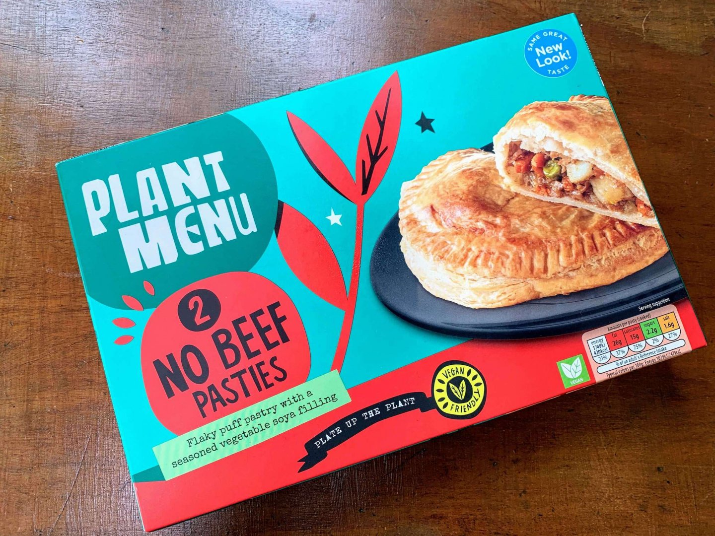 Aldi Plant Menu No Beef Pasties –  Product Review